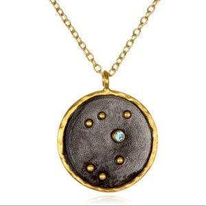 satya Sagittarius Zodiac Necklace